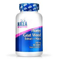 Horny goat weed + maca 750mg - 90 tabs