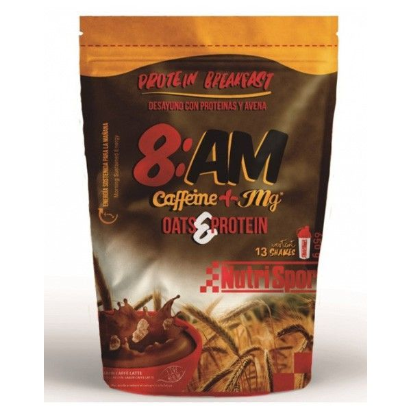 8am with caffeine (oat&protein) - 650g