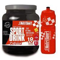 Sport drink with cafeine - 990g + bottle