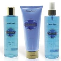 Dressing case pure glamor (body cream+fragrance+bath gel)