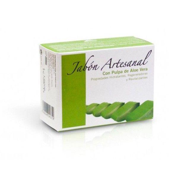 Handmade aloe vera soap - 100g