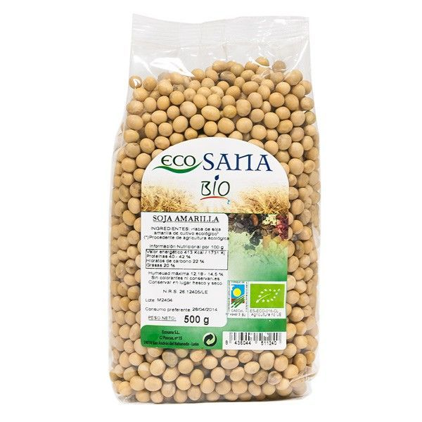 Yellow soybeans - 500g