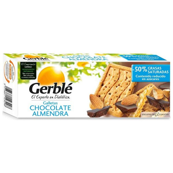 Chocolate and almond biscuit - 200g