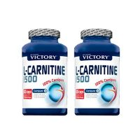 2 x 1 L-Carnitina (100 capsule)