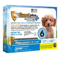 Vetguard plus for small dogs (vetiq) - 6 month supply