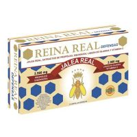 Royal jelly queen real defenses 2560 mg - 20 x 10ml