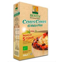 Cous cous corn rice 5 minutes biovita - 500g