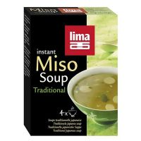 Traditional instant miso soup lima - 4 x 10g