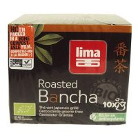 Roasted green tea bancha instant lima - 10 sachets