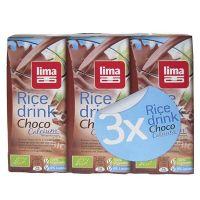 Rice drink choco lima - 3 x 200ml
