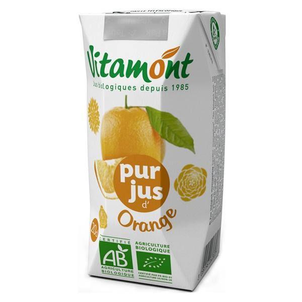 Orange juice vitamont - 6 x 20cl