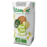 Pineapple juice vitamont - 6 x 20cl