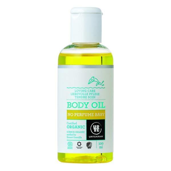 Baby body oil no perfume urtekram - 100ml