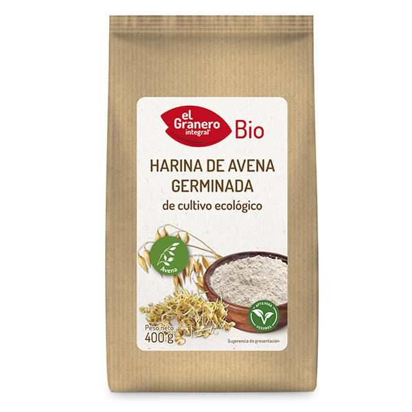Germinated oatmeal bio - 400 g
