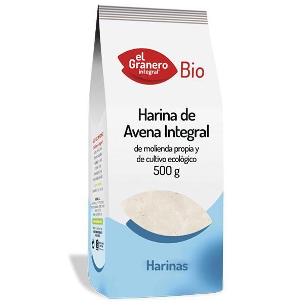 Whole oatmeal bio - 500 g