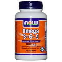 Omega 3-6-9 1000mg - 100 softgels