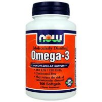 NOW Omega 3 1000 mg - 200 compresse