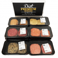 pack 4 hamburger 100% freschi  - Diet Premium
