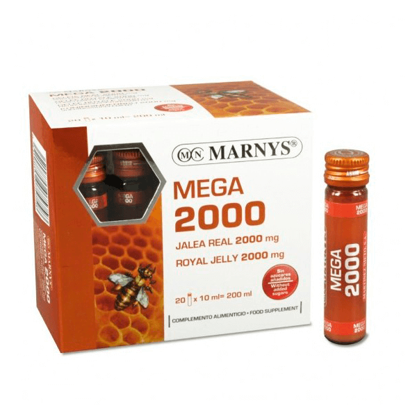 Mega 2000 (royal jelly) - 20 vials