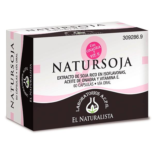 Natursoja - 60 capsules