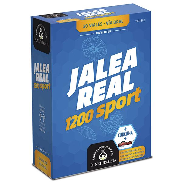 Royal jelly sport - 20 vials