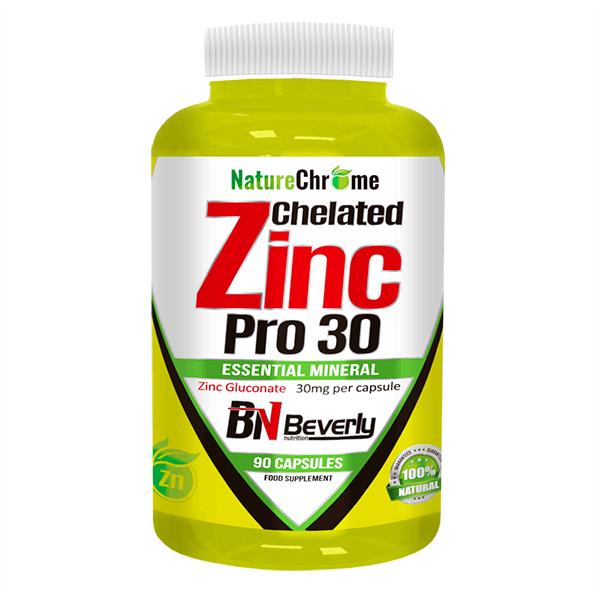 Chelated zinc pro 30 - 90 capsules