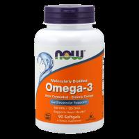 Omega-3, molecularly distilled & enteric coated - 90 softgels