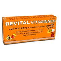 Revital vitaminado forte 1500 - 10ml x 20 vials