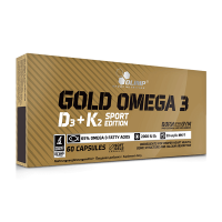Gold omega 3 d3+k2 sport edition - 60 capsules