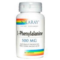 L - phenylalanine 500mg - 60 capsules