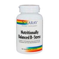 Nutritionally balanced b-stress - 100 vegetarian capsules