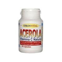 Acerola, natural vitamin c - 90 capsules