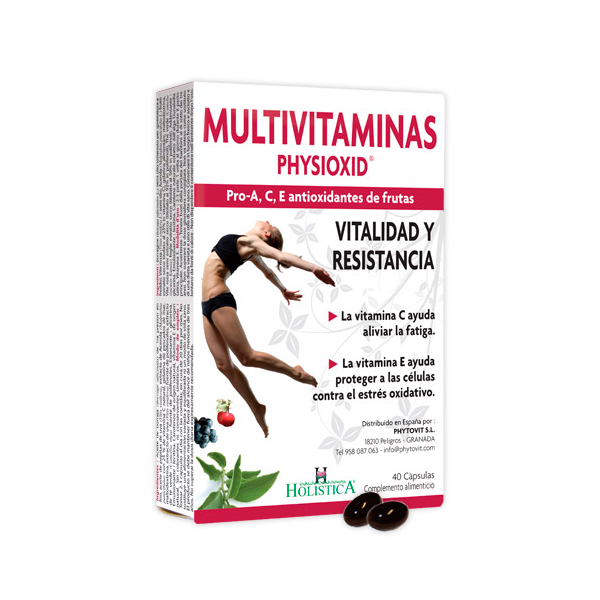 Physioxid multivitamins - 40 capsules