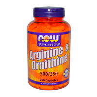 Arginina & Ornitina 500/250mg - 250 Capsule