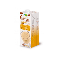 Brown rice drink with lemon cinnamon - pack 3x1l