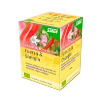 Strength & energy bach flower infusion bio - 15 sachets