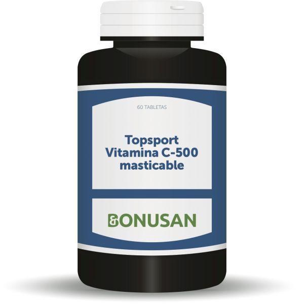 topsport vitamina c 500 60 caps. masticables