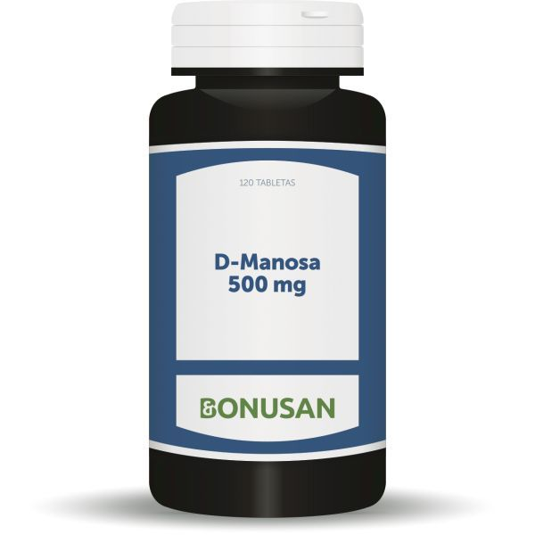 d-manosa 500mg. 120 tabletas