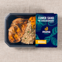 Chicken with bastami rice and mix of vegetables ManaFoods - 1