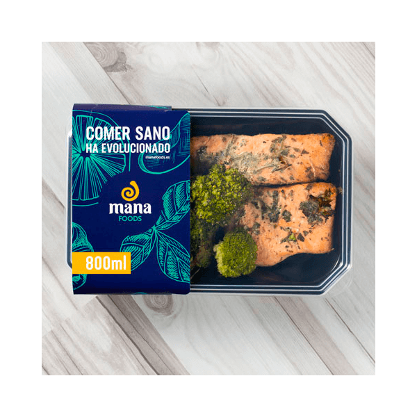 Papillote salmon - Mana Foods ManaFoods - 1