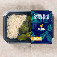 Chicken with rice and broccoli ManaFoods - 1