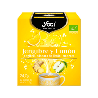Ginger and lemon - 12 sachets Yogi Organic - 1