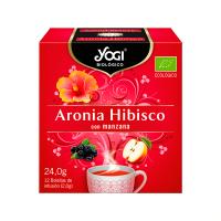 Aronia hibiscus - 12 sachets Yogi Organic - 1