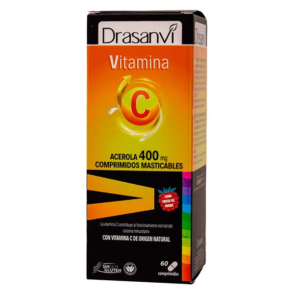 C vitamin 400mg - 60 chewable pills Drasanvi - 1