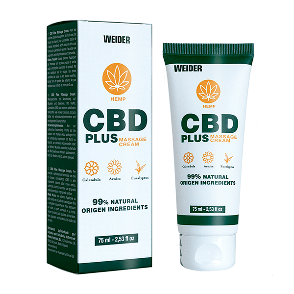 Cbd plus massage cream - 75ml Weider - 1