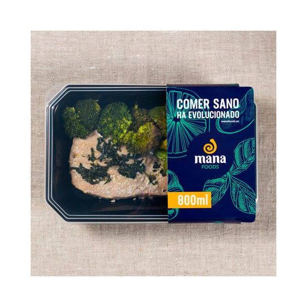 Tuna with broccoli ManaFoods - 1
