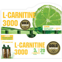 L-Carnitina 3000 - 20 fiale GoldNutrition - 1