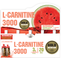 L-Carnitina 3000 - 20 fiale GoldNutrition - 2
