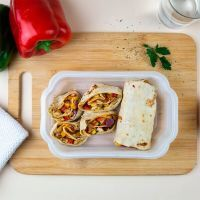 Chicken wrap with mustard and honey ManaFoods - 1