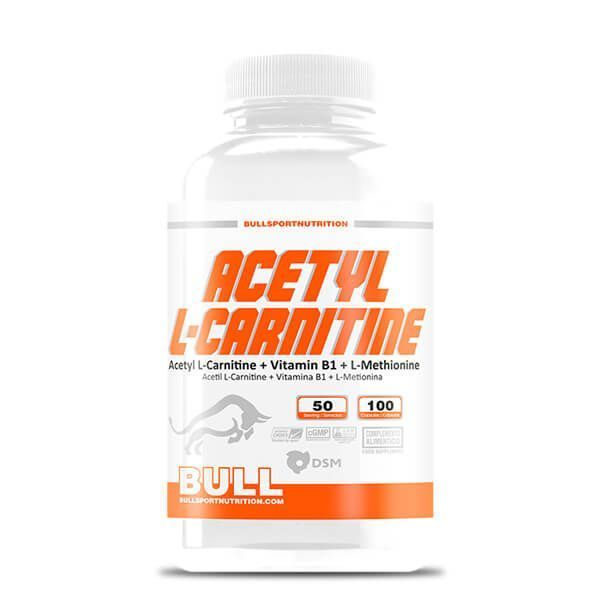 Acetyl l-carnitine - 100 capsules Bull Sport Nutrition - 1